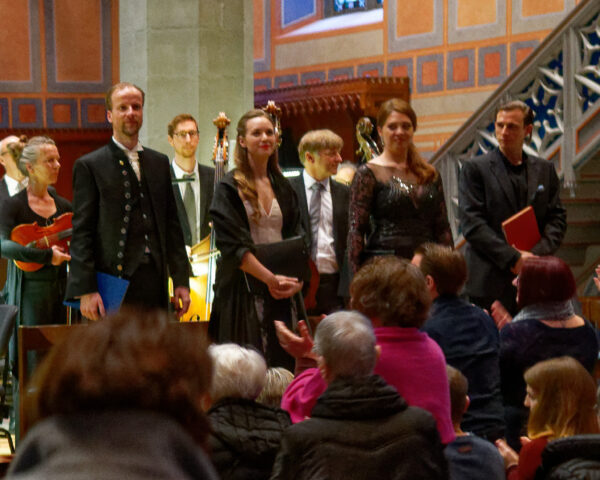 Elias: Peter Schöne, Angela Vallone, Dorottya Láng, Paul Schweinester, St.Laurenzenkirche, 2019-04-14 (© Rolf Kyburz)