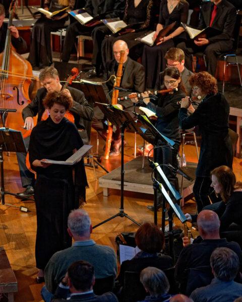 Eugénie Warnier, Orchestra La Scintilla @ St.Jakob, Zurich, 2019-04-17 (© Rolf Kyburz)