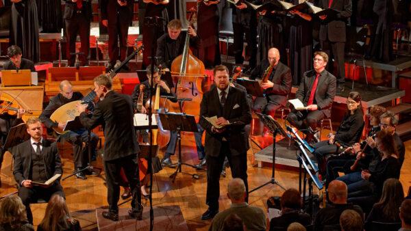 Aleksander Nohr, Florian Helgath, Orchestra la Scintilla @ St.Jakob, Zurich, 2019-04-17 (© Rolf Kyburz)