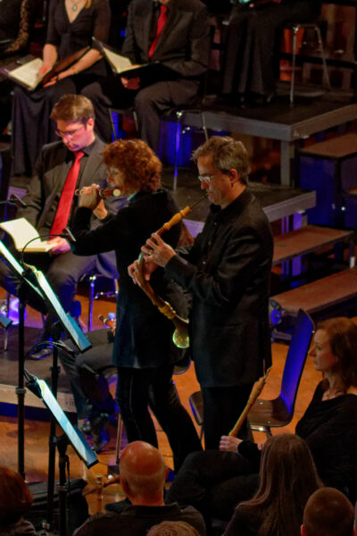 Florian Feth, Orchestra la Scintilla, Maria Goldschmidt, Philipp Mahrenholz @ St.Jakob, Zurich, 2019-04-17 (© Rolf Kyburz)