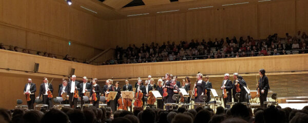 Chamber Orchestra of Europe, Tonhalle Maag, Zurich, 2019-04-09 (© Lea Kyburz)