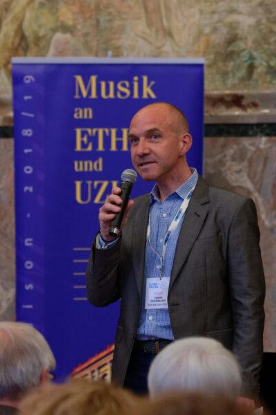 Charity Concert, Aula, Zurich University (© Rolf Kyburz)