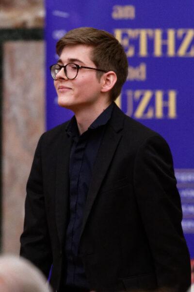 Jérémie Conus, Charity Concert, Aula, Zurich University (© Rolf Kyburz)