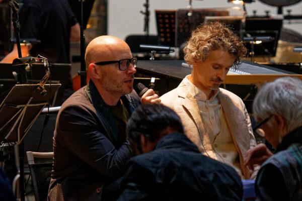 Baldur Brönnimann & Bernd Richard Deutsch @ Pantheon, Muttenz/Basel, 2019-05-05 (© Rolf Kyburz)