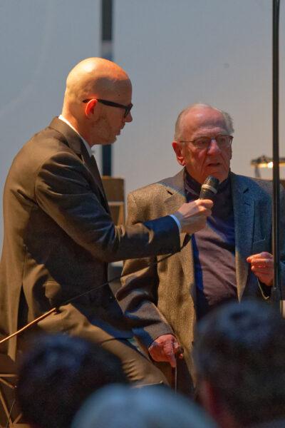Baldur Brönnimann & Rudolf Kelterborn @ Pantheon, Muttenz/Basel, 2019-05-05 (© Rolf Kyburz)