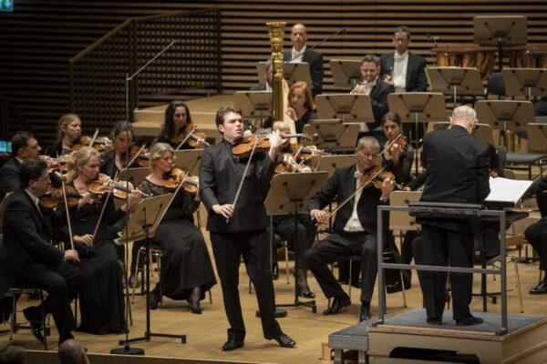 Orpheum-Concert, 2019-05-24: Timothy Ridout, David Zinman, Tonhalle Orchestra Zurich (© Thomas Entzeroth)