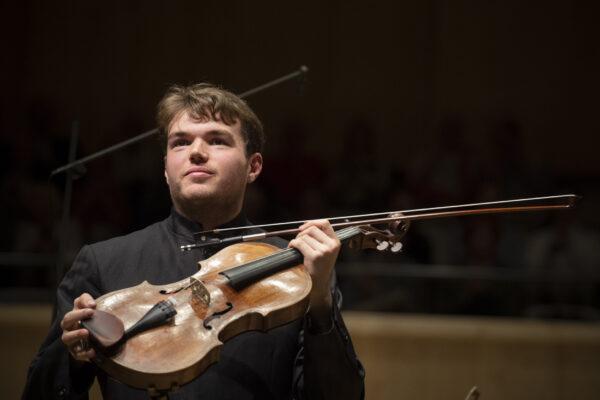 Orpheum-Concert, 2019-05-24: Timothy Ridout (© Thomas Entzeroth)