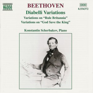 Konstantin Scherbakov: Beethoven, Variations for Piano — CD cover