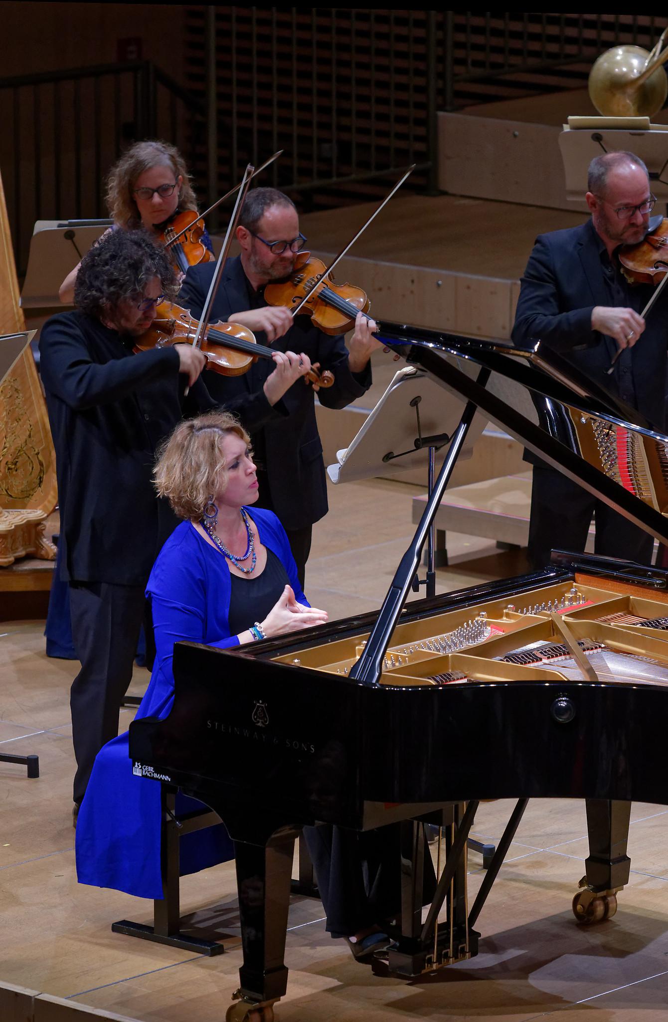 Gabriela Montero, Daniel Bard, Kammerorchester Basel @ Zurich, 2019-11-12 (© Rolf Kyburz)