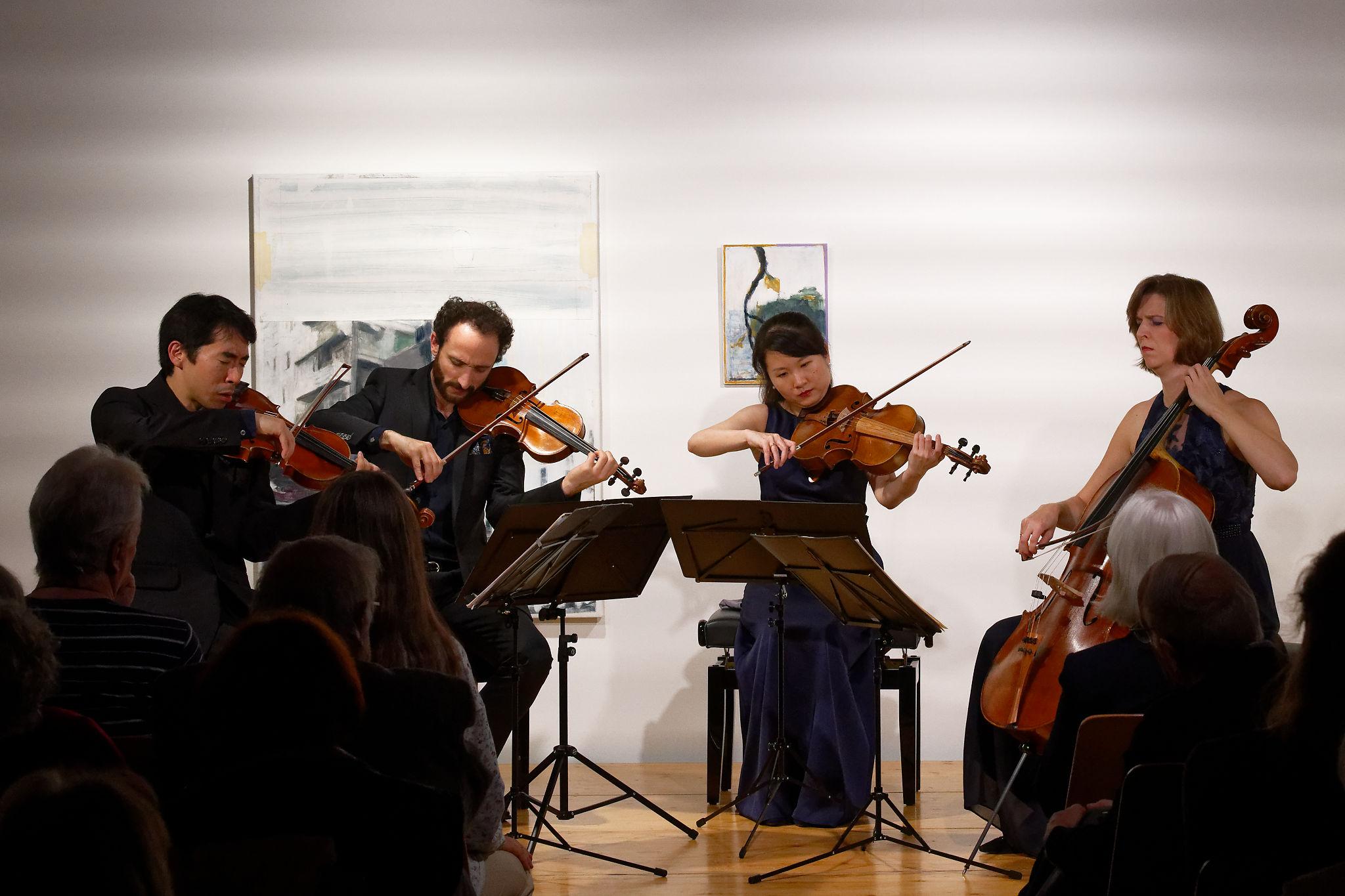 Pacific Quartet Vienna @ Zimmermannhaus Brugg, 2019-11-30 (© Rolf Kyburz)