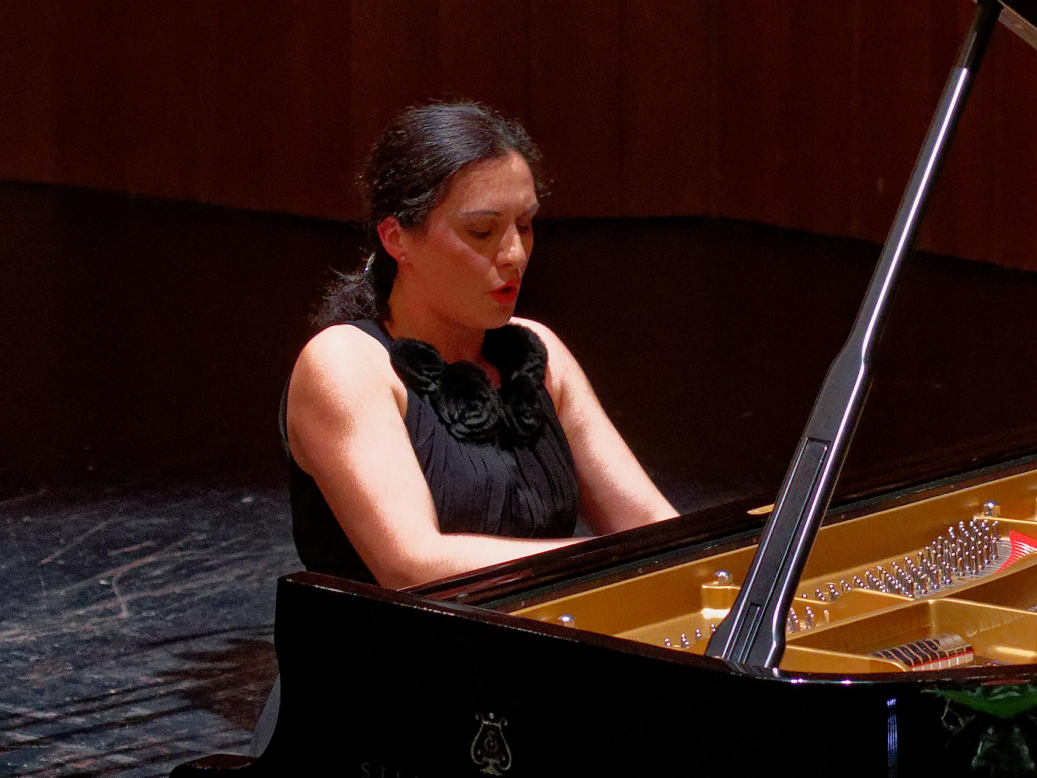 Tamar Beraia @ Klavierissimo Festival, Wetzikon ZH, 2020-01-28 (© Rolf Kyburz)