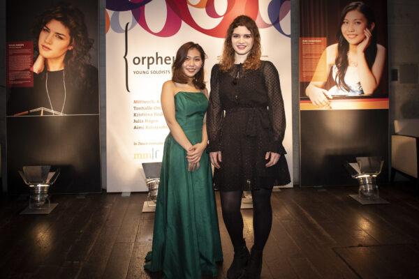 Orpheum Concert 2020-03-04 @ Tonhalle Maag: Aimi Kobayashi & Julia Hagen (© Thomas Entzeroth)