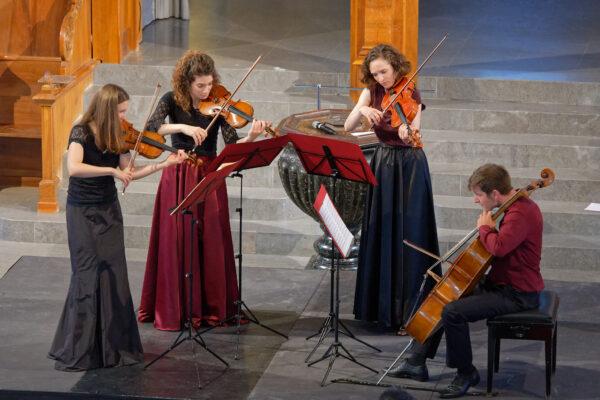 Belenus Quartet @ St.Peter, Zurich, 2021-09-05 (© Rolf Kyburz)