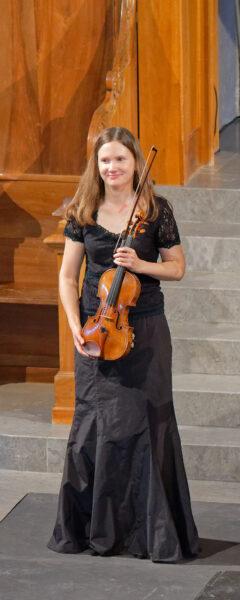 Seraina Pfenninger (Belenus Quartet) @ St.Peter, Zurich, 2021-09-05 (© Rolf Kyburz)