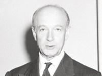Joseph Szigeti, 1950 (Cushing Memorial Library, Texas A&M University, CC-BY 2.0)