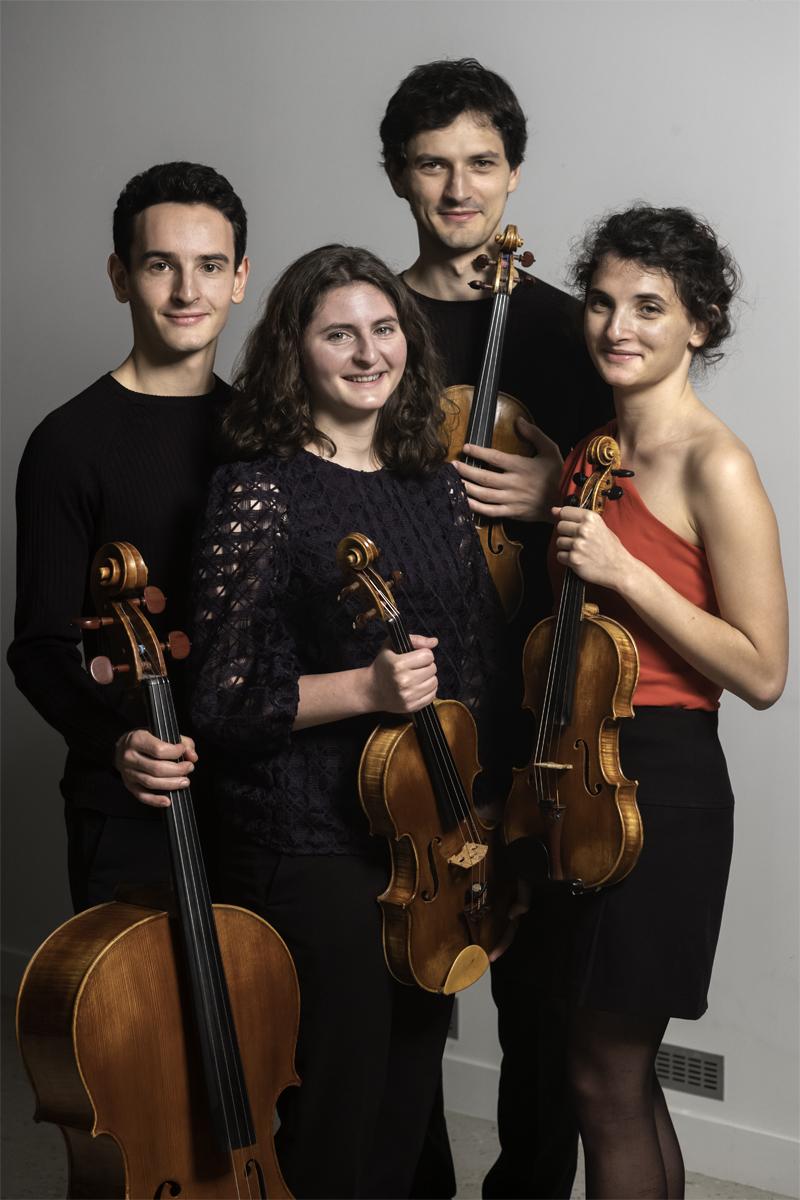 Quatuor Tchalik (© Steve Murez, 2019)