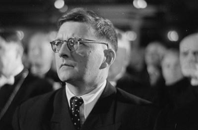 Dmitri Shostakovich (Wikimedia Commons / Deutsche Fotothek)
