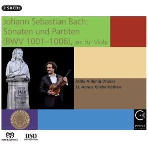 J.S. Bach, Sonatas & Partitas —Atilla Aldemir (CD, cover)