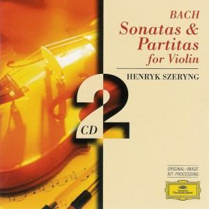 J.S. Bach, Sonatas & Partitas —Henryk Szeryng (CD cover)