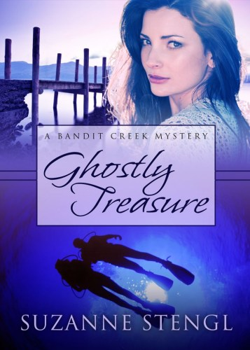 cover - Ghostly Treasure by Suzanne Stengl