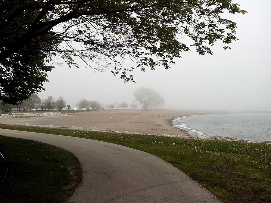 beach at Racine