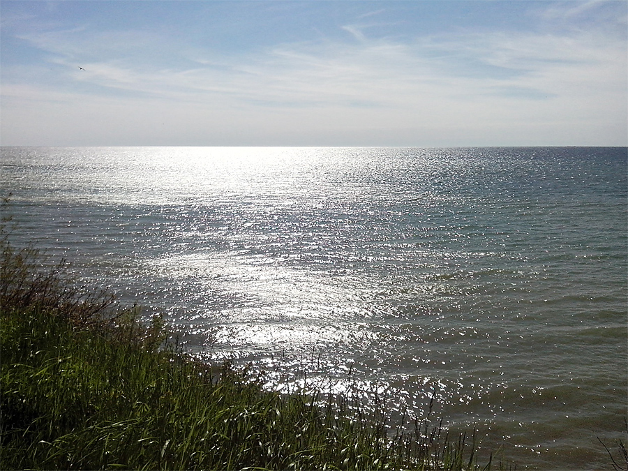 Lake Michigan in the morning