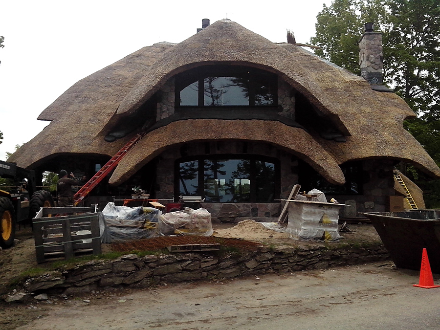 hobbit houses of Earl Young in Charlevoix