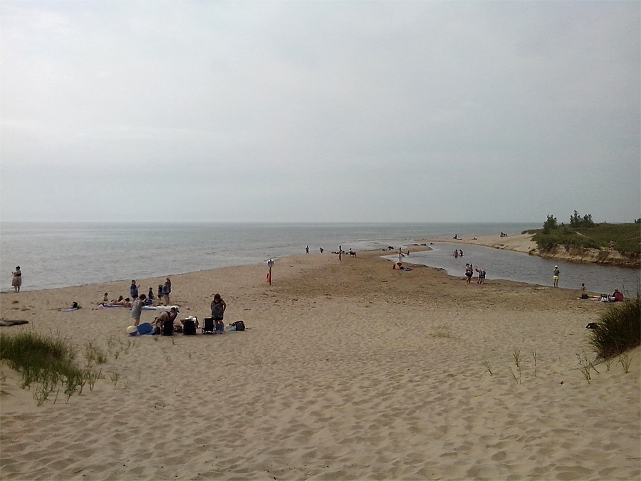 Duck Lake State Park on Lake Michigan