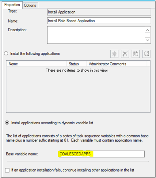 Install application via AD groups during OSD |