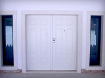 Porta Blindada Exterior com duas folhas