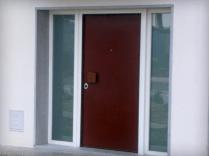 Porta Blindada Exterior forrada a Aço Corten