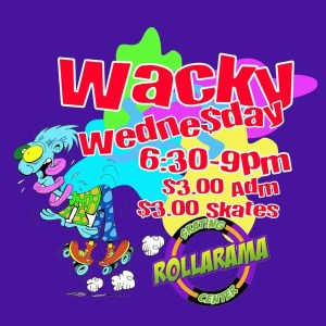 Wacky Wednesday at Rollarama