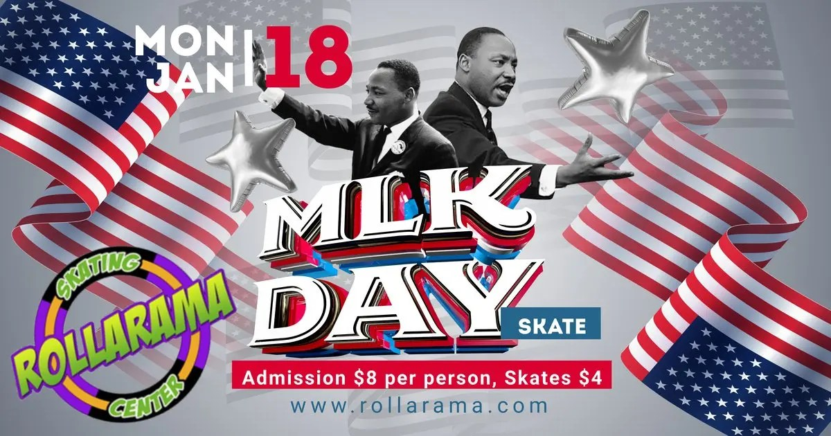 martin luther king day skate
