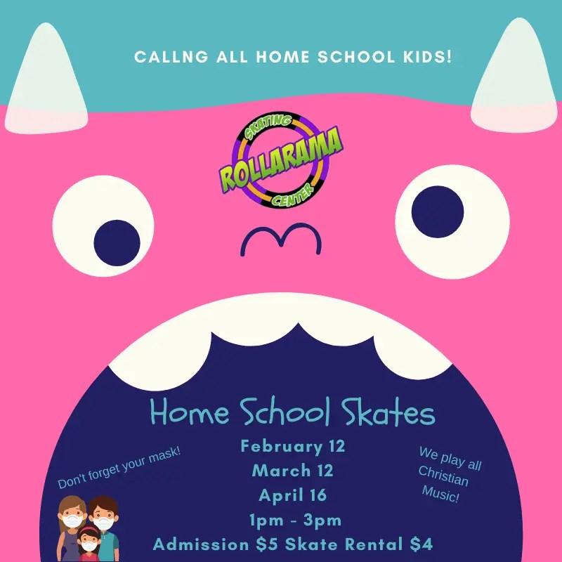Home School Skate at Rollarama Skating Center