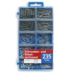 """Schrauben-und Dübel-Sortiment – 235 Teile – verschiedene Größen bei """"Möbel Roller"""" bestellen"""