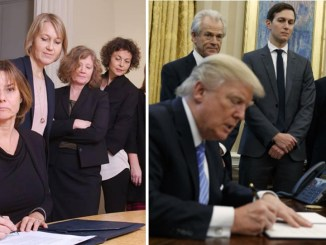 All-Women Photo of Swedish Deputy PM Signing Climate Law TROLLS Trump