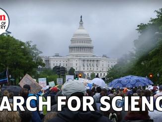 Why chemists marched for science