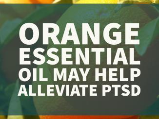 Orange essential oil may help alleviate post-traumatic stress disorder