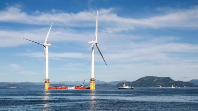 Huge Energy Potential in Open Ocean Wind Farms in The North Atlantic