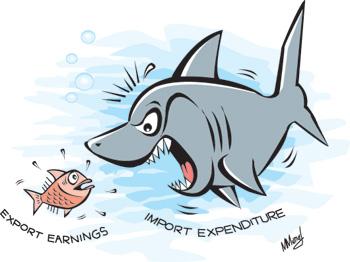 balance of payments cartoon