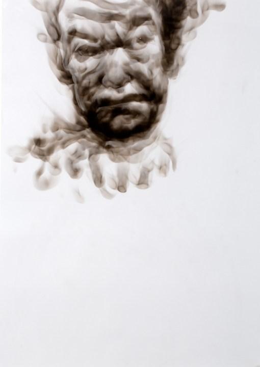 Victor Diane Smoke Portrait p99