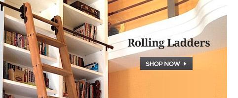 rolling ladder kits hardware