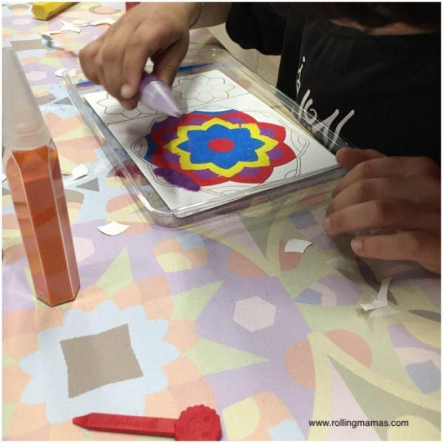 Sabbiarelli E La Nuova Collezione Mandala Rolling Mam At S
