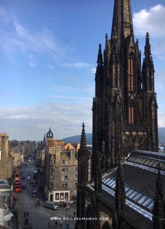 viaggi in capitali europee con bambini Edimburgo