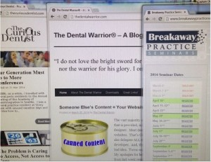 Worthwhile reading material about dentistry