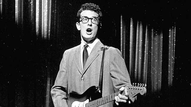 UNSPECIFIED - JANUARY 01: Photo of Buddy Holly, January, 1958 Ed Sullivan Show Photo by Michael Ochs Archives/Getty Images