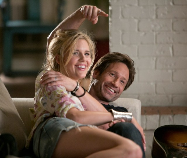 Maggie Grace As Faith And David Duchovny As Hank Moody On Californication