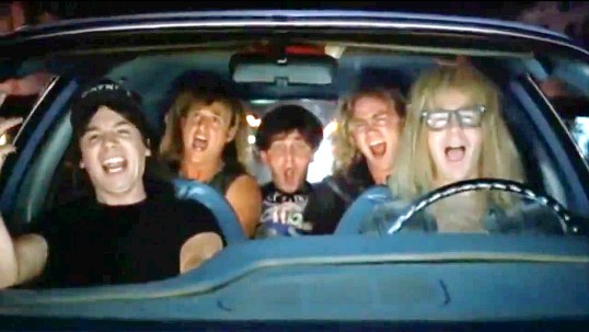 Image result for wayne's world bohemian rhapsody