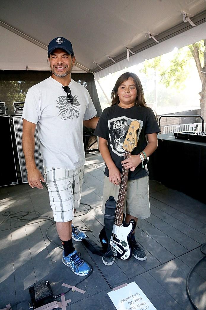 Metallica Bassist Robert Trujillo's 12-Year-Old Son Joins Korn on Tour