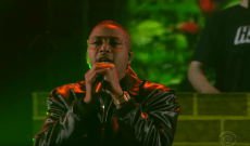Nas Performs 'Adam and Eve,' Talks Moose-Watching With Kanye on 'Colbert'